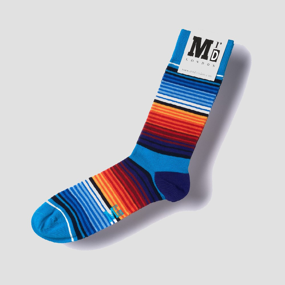 Mr D Multistrip Socks
