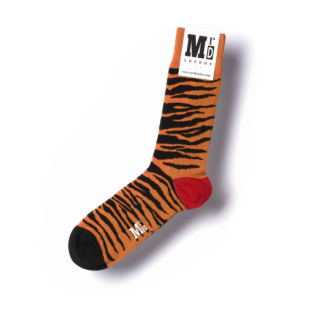 Mr D Tiger Socks